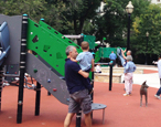 Goudy Square Park Playground