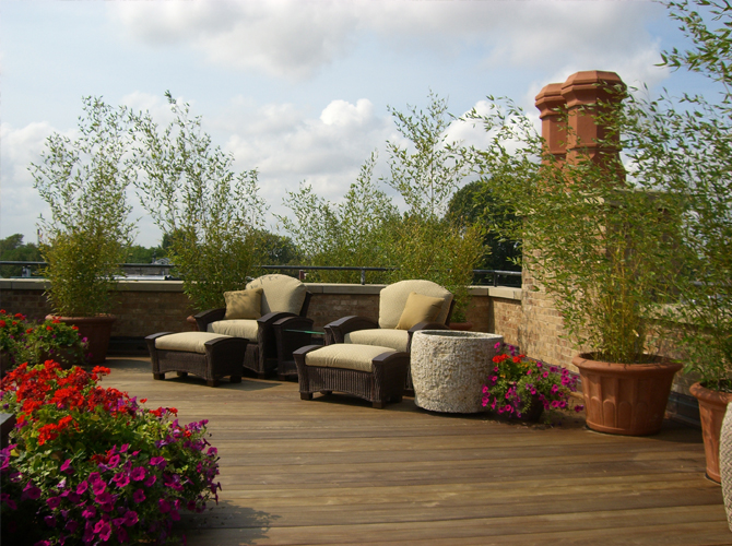 JRA Private Roof Deck Chairs