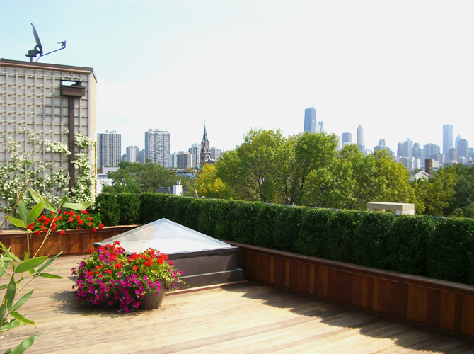 JRA Private Roof Deck Skyline