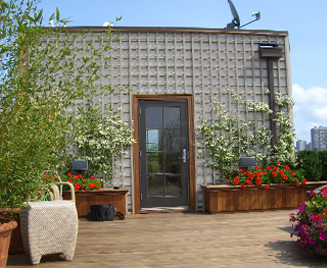 JRA Private Roof Deck Trellis