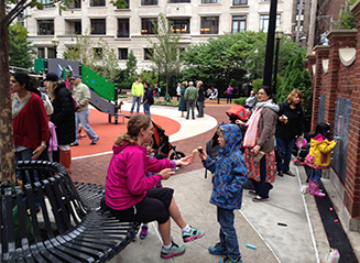 JRA Goudy Square Park Playground Children