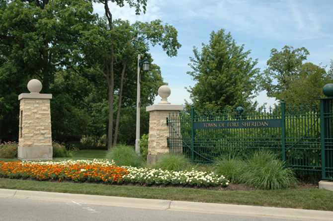 JRA Town of Fort Sheridan Entrance