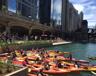 JRA_Chicago Riverwalk State to LaSalle_Kayaks