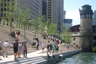 JRA_Chicago Riverwalk State to LaSalle_View from River Edge