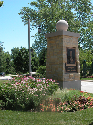 JRA Town of Fort Sheridan Column