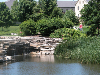 JRA Town of Fort Sheridan Stone Bridge